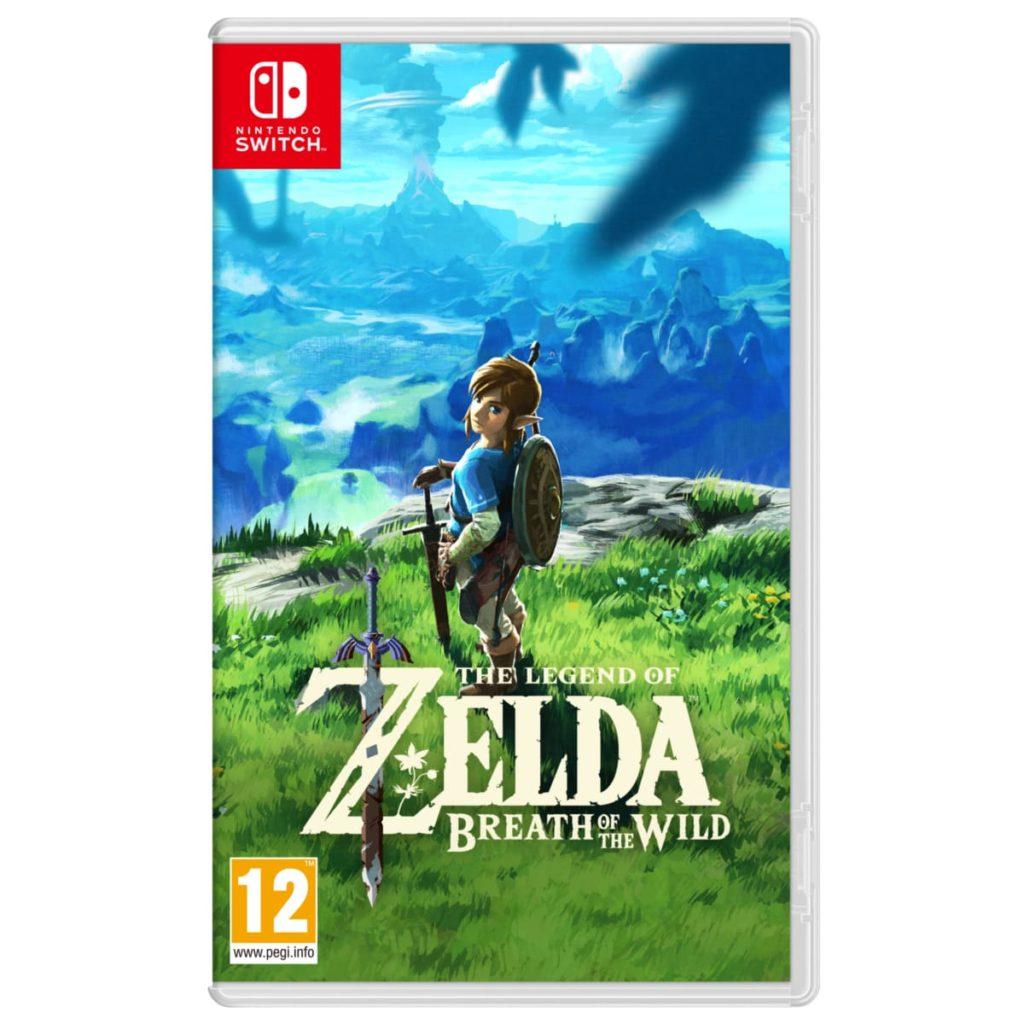 zelda switch prix bas